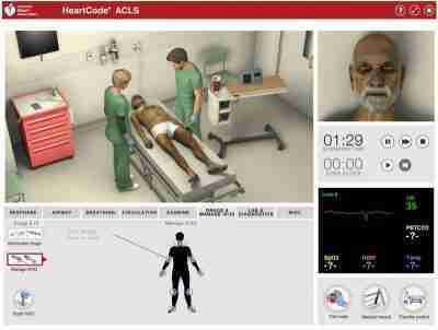Heartcode ACLS online course