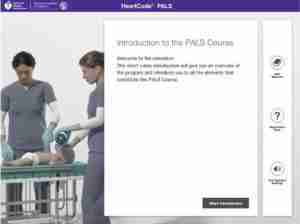 PALS Online Course Screenshot 3