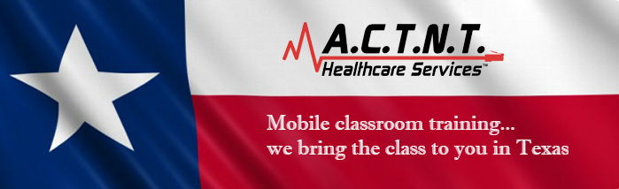 A.C.T.N.T. Healthcare Services BLS ACLS PALS Mobile Classroom