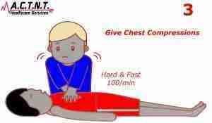 CPR Step 3-CPR Training Tool AHA Feedback Device