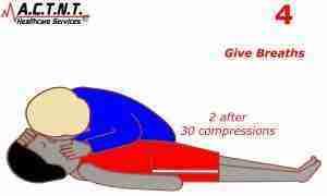 CPR Step 4-CPR Training Tool AHA Feedback Device